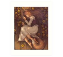 Spice And Wolf Art Print