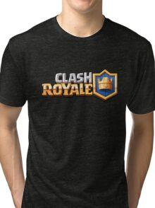 clash royale logo Tri-blend T-Shirt