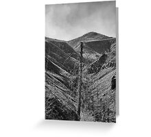 After The 2000 Cerro Grande Fire Los Alamos II Greeting Card