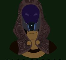 Mass Effect Tali'Zorah Minimalist by quidvis