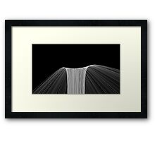 The End of Space Framed Print