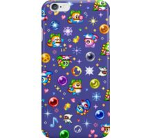 Bubble Bobble - Blue iPhone Case/Skin