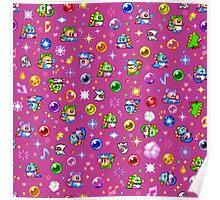 Bubble Bobble - Pink Poster