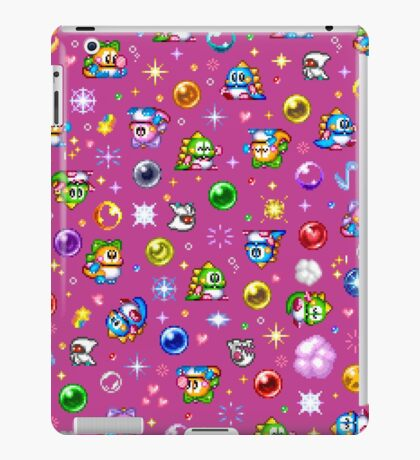 Bubble Bobble - Pink iPad Case/Skin