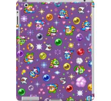 Bubble Bobble - Purple iPad Case/Skin