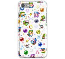 Bubble Bobble - White iPhone Case/Skin