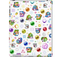 Bubble Bobble - White iPad Case/Skin