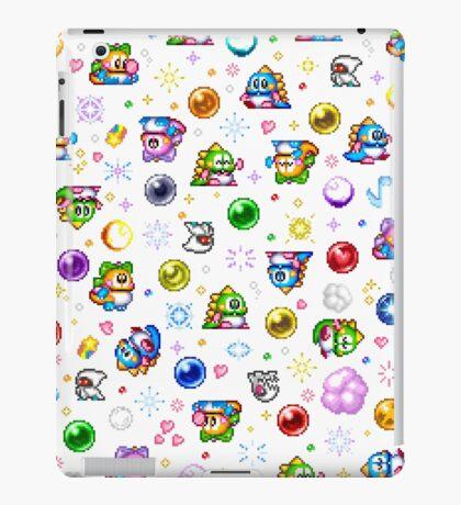 Bubble Bobble - White iPad Case/Skin