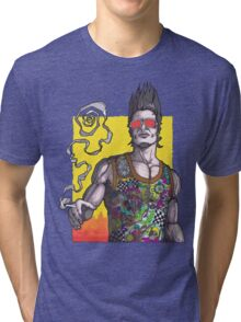 Fight Club #2 *69 dude Tri-blend T-Shirt