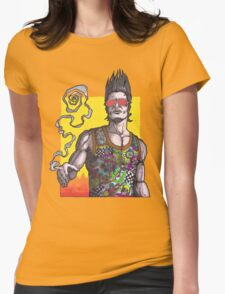 Fight Club #2 *69 dude Womens Fitted T-Shirt