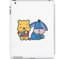 Baby Eeyore And Winnie The Pooh iPad Case/Skin