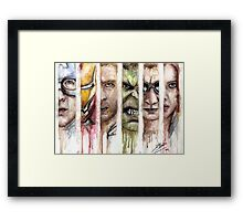 The Avengers Framed Print