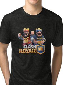 The King Clash royale Tri-blend T-Shirt