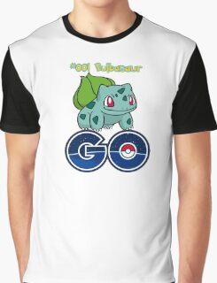#001 Bulbasaur GO! Graphic T-Shirt