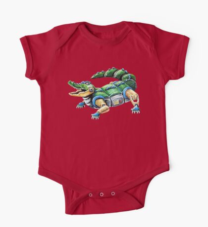Chomp The Robo-Gator One Piece - Short Sleeve