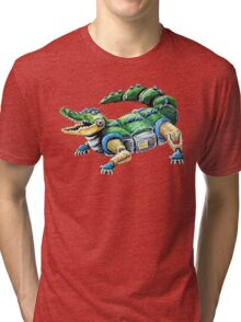 Chomp The Robo-Gator Tri-blend T-Shirt
