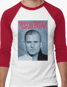 PRISON BREAK Men's Baseball ¾ T-Shirt