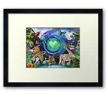 Eco Planet  Framed Print