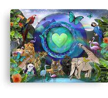 Eco Planet  Canvas Print