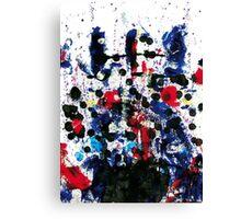Cara africana Canvas Print
