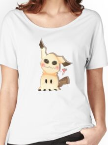 Mimikkyu Women's Relaxed Fit T-Shirt