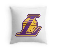 Los Angeles Lakers logo Throw Pillow