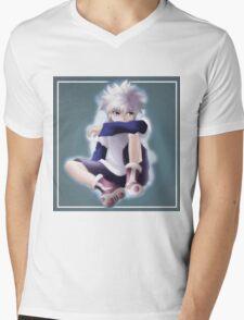 KILLUA HUNTER X HUNTER Mens V-Neck T-Shirt