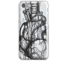 Heart Ink Painting iPhone Case/Skin