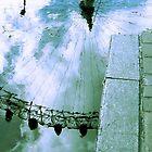 London Eye Kerb by Sparklerpix