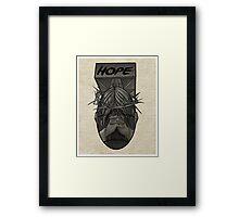 """""""HOPE"""" Framed Print"""