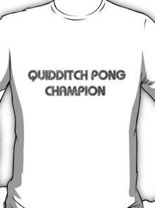 Quidditch Pong Champion T-Shirt