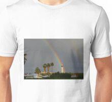 Rainbow & Stratosphere Tower Unisex T-Shirt
