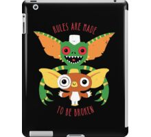Rules Are Made To Be Broken iPad Case/Skin