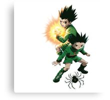 GON HUNTER X HUNTER Canvas Print