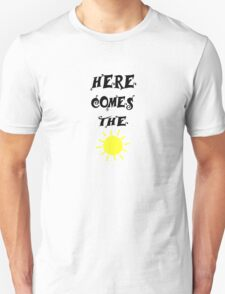 Here Comes The Sun Beatles Song Lyrics 60s Rock Music Unisex T-Shirt