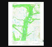 USGS TOPO Map Alaska AK Taylor Mountains A-4 359840 1954 63360 Unisex T-Shirt