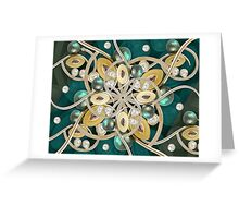 Luxury Ornate Decorative Greeting Card
