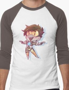Overwatch tracer Men's Baseball ¾ T-Shirt