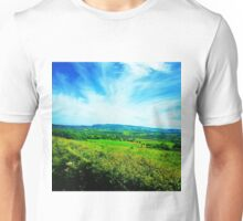 Isle of Wight countryside Unisex T-Shirt