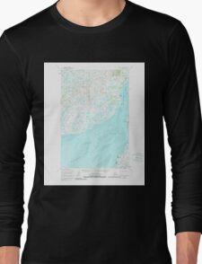 USGS TOPO Map Alaska AK Naknek D-4 358019 1952 63360 Long Sleeve T-Shirt
