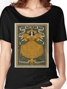 Dave Matthews Band  DTE Energy Music Theatre Clarkston MI 2016 NEW COLECTION Women's Relaxed Fit T-Shirt