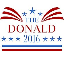 The Donald 2016 Election Photographic Print