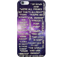 Musical Quotes iPhone Case/Skin