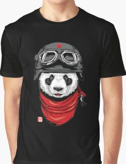 pilot panda Graphic T-Shirt
