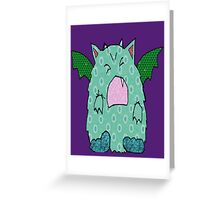 Just the Mon Greeting Card