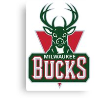 Milwaukee Bucks 02 Canvas Print
