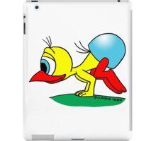 Rick the chick - Bakasana iPad Case/Skin