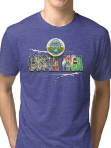 costa rica Tri-blend T-Shirt