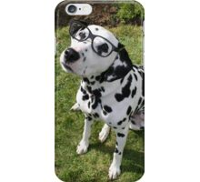 Geek Dalmation iPhone Case/Skin