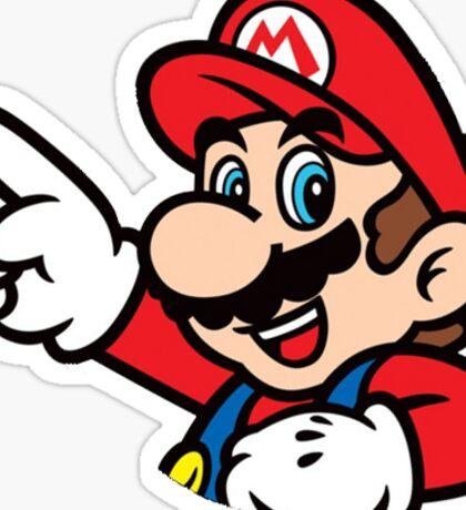 Super Mario Bros - Mario Sticker